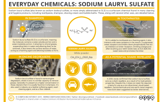 Everyday Chemicals – Sodium Lauryl Sulfate & Shampoo