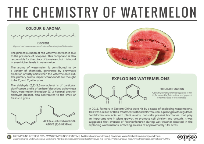 The Chemistry of Watermelons