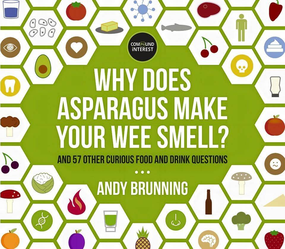 Why does asparagus make your wee smell? chemistry
