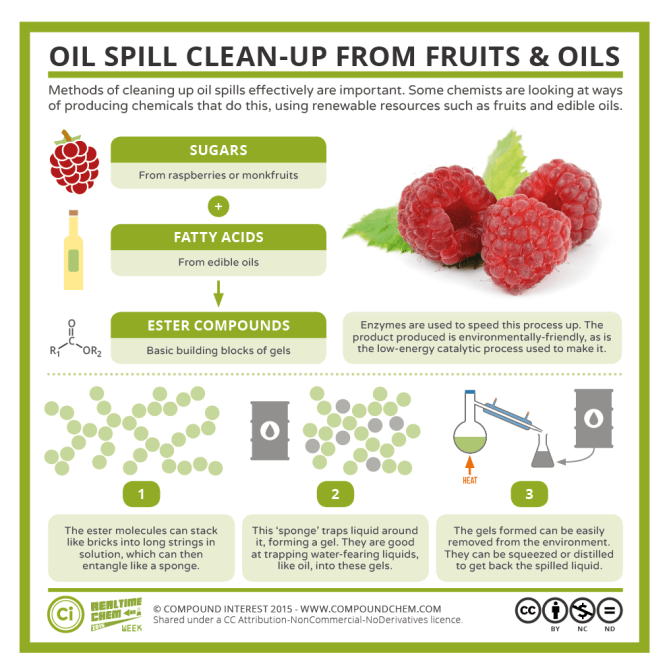 RTCW2 – Oil Spill Clean-Ups with Fruits & Oils