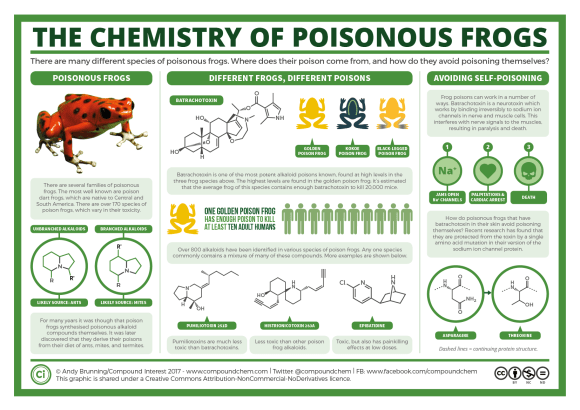 The Chemistry of Poison Frogs