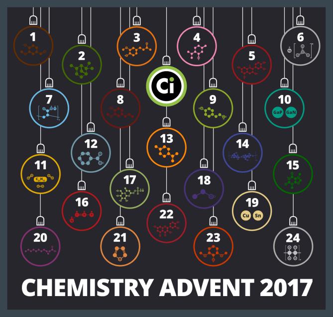 the chemistry advent calendar 2017 compound interest. Black Bedroom Furniture Sets. Home Design Ideas