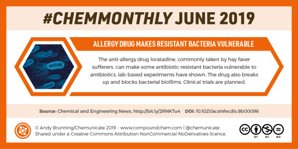 ChemMonthly June 2019: Converting blood types, snail