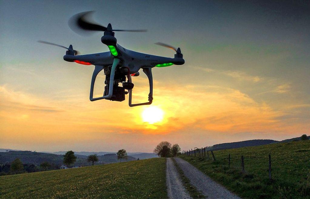 donde volar un dron