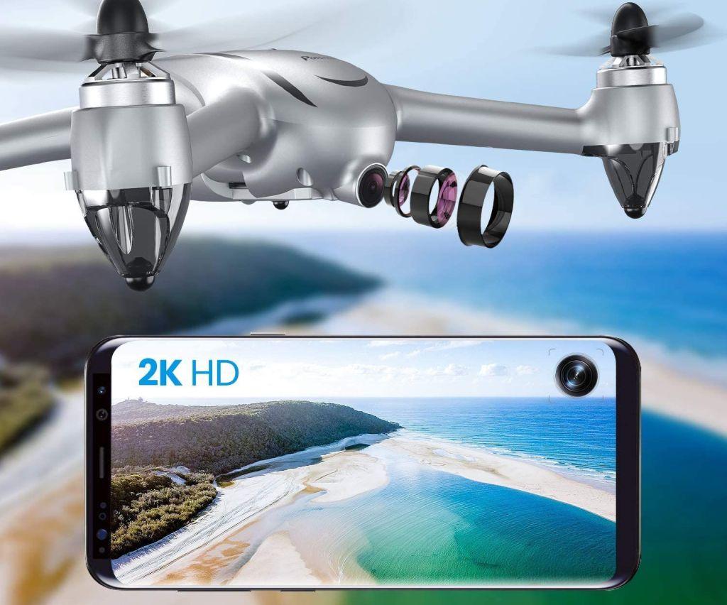 potensic d80 cámara