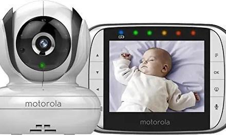 Vigilabebés con cámara inalámbrica Motorola MBP36S