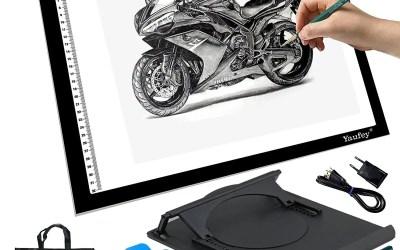 Mesa de luz para dibujar con adaptador USB