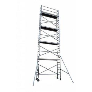 torre movil aluminio, torre brico, torre pro