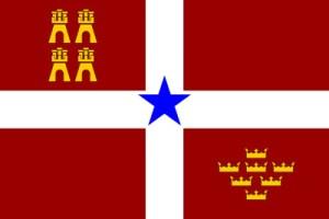 Bandera nacionalista murciana