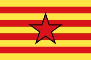Bandera de La estrelada aragonesa