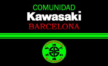 Bandera Comunidad Kawasaki Barcelona