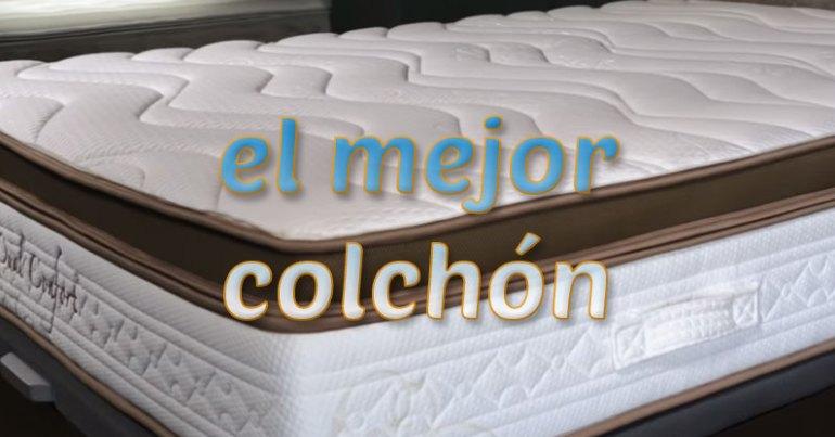mejor colchón
