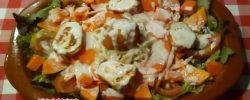 Ensalada de papaya y apio