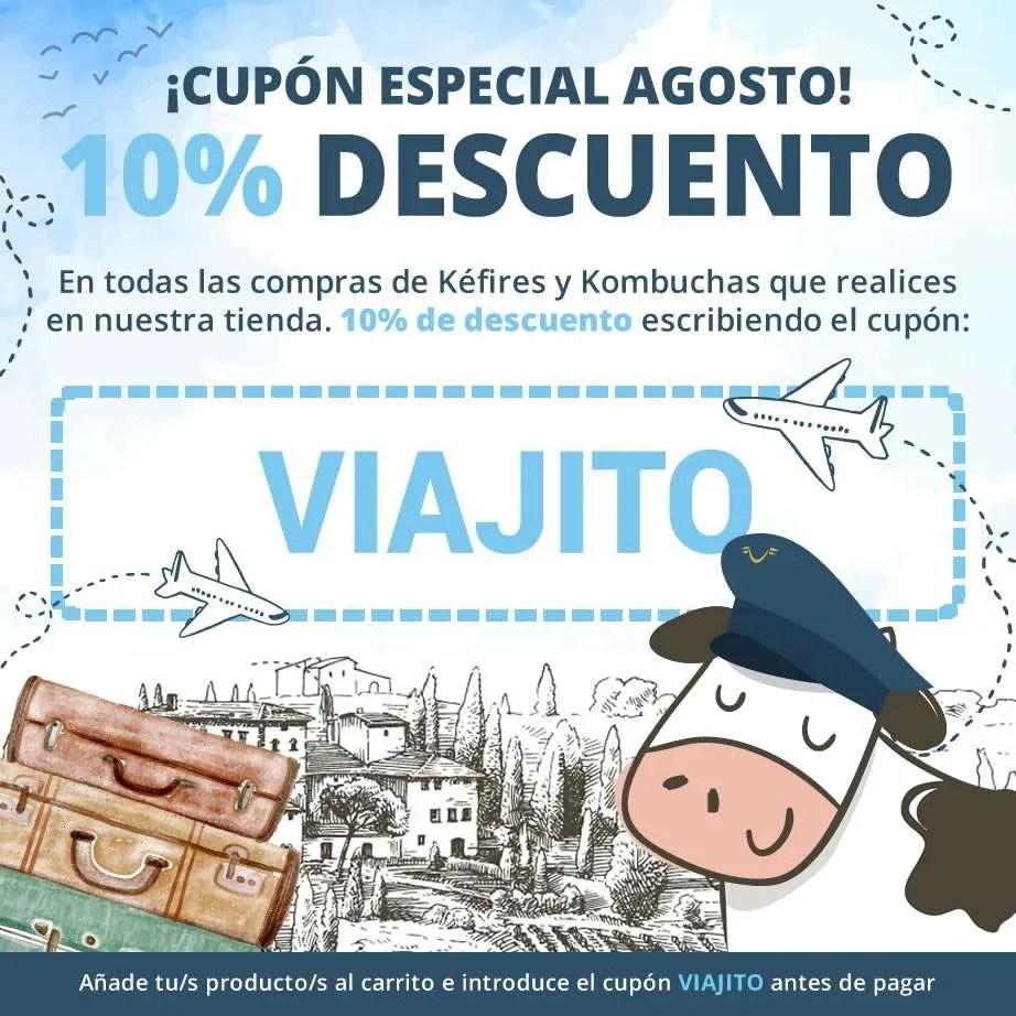 Cupón de descuento 10% - Mes de Agosto