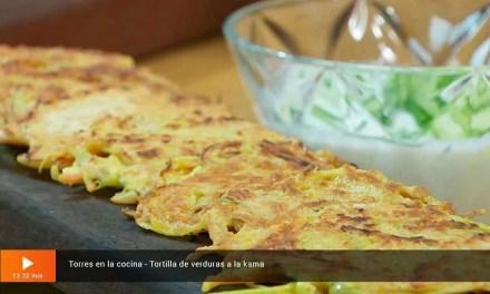 Tortilla de verduras a la kama