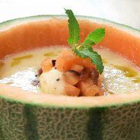 Receta de Sopa de melón con Kéfir