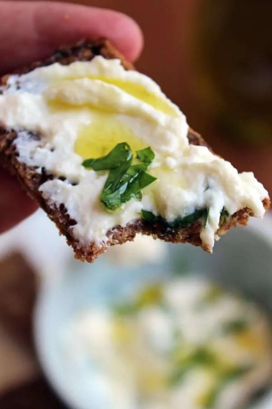 Queso crema de kefir