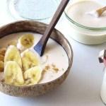 Kéfir vegano de leche de anacardos