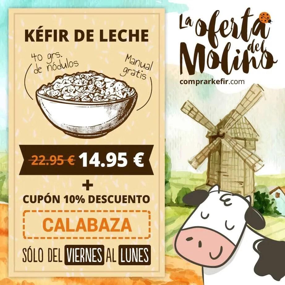 Comprar Kéfir de Leche barato en Barcelona