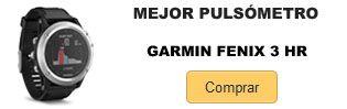 Comprar mejor pulsometro Garmin Fenix 3 HR