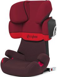 Cybex Solution X2-Fix rojo
