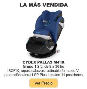 Cybex-Pallas-M-Fix-_ mejor silla de coche