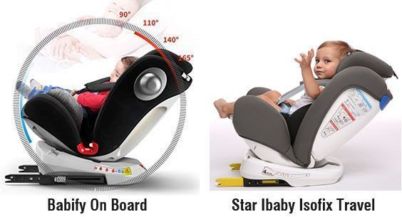 Babify On Board vs Star Ibaby 360 - reclinado