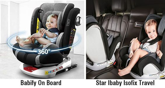 Babify vs Star Ibaby - proteccion lateral SPS