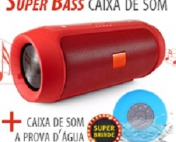 Caixa de Som Super Bass