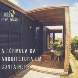 A FORMULA DA ARQUITETURA EM CONTAINERS