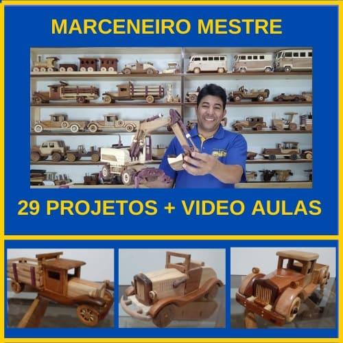 Marceneiro Mestre Como fazer carros miniaturas de madeira