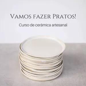 Curso de cerâmica artesanal para fazer pratos