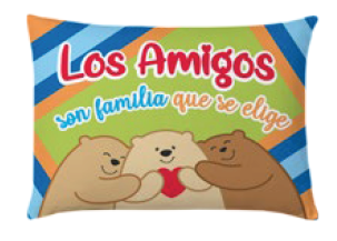 "<b>Cojín Amigos ositos</b>  <b>""Little detail"" </b>  <b>suave,</b><b>cómodo y fresco</b>  <b>Tamaño 42 x 30 cm </b>  <b>PRECIO ESPECIAL A MAYORISTAS</b>  <b>mayoreo@comprastodo.com</b> Cojín Amigos Ositos"