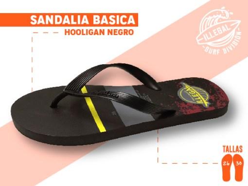 <b>SANDALIA MARCA ILEGAL</b>  <b>PARA CABALLERO</b>  <b>TALLAS DEL 26 A 30 CM</b>  <b>PRECIO ESPECIAL A MAYORISTAS</b>  <b>mayoreo@comprastodo.com</b>  <b>SOMOS FABRICANTES</b> Sandalia Hooligan Negro