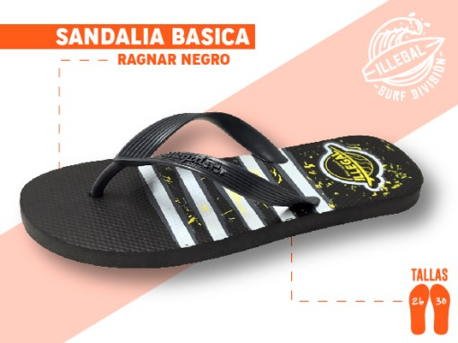 <b>SANDALIA MARCA ILEGAL</b>  <b>PARA CABALLERO</b>  <b>TALLAS DEL 26 A 30 CM</b>  <b>PRECIO ESPECIAL A MAYORISTAS</b>  <b>mayoreo@comprastodo.com</b>  <b>SOMOS FABRICANTES</b> Sandalia Ragnar Negro