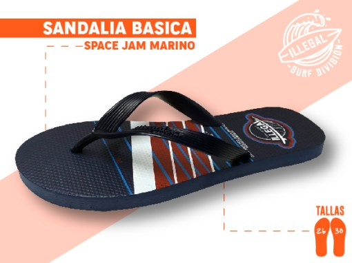 <b>SANDALIA MARCA ILEGAL</b>  <b>PARA CABALLERO</b>  <b>TALLAS DEL 26 A 30 CM</b>  <b>PRECIO ESPECIAL A MAYORISTAS</b>  <b>mayoreo@comprastodo.com</b>  <b>SOMOS FABRICANTES</b> Sandalia Space Jam Marino