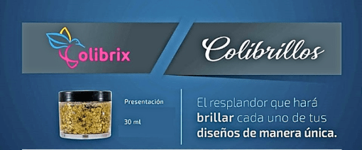 Colibrillo <h1>Glitter marca Colibrix 30 ml.</h1> <h1>Color neón</h1> Colibrillos Color Neón 30 ml