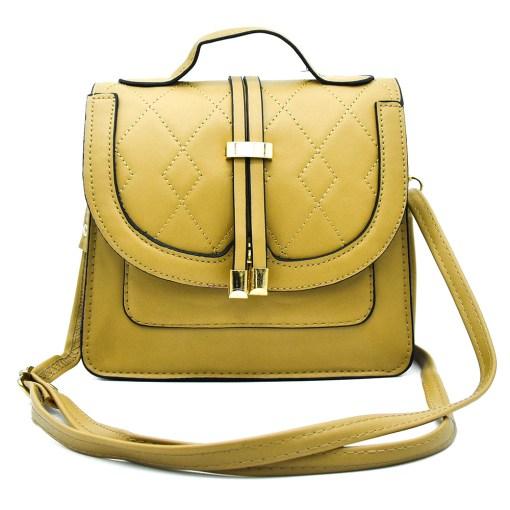 bolsa para dama Color Amarillo Mostaza Bolsa para Dama  LK-218AM