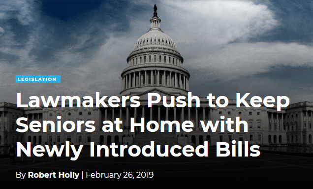 Lawmakers Push to Keep Seniors at Home with Newly Introduced Bills - Home Health
