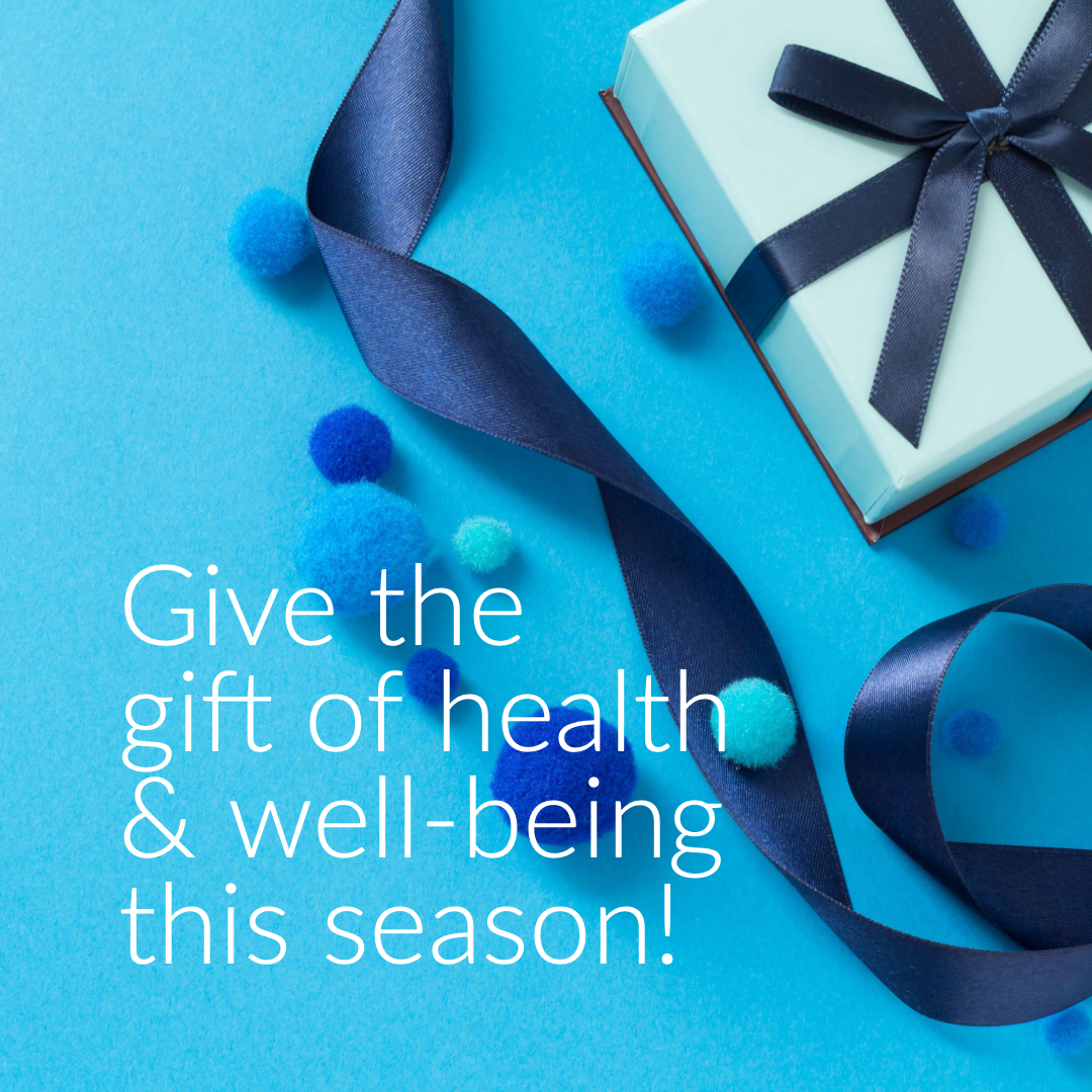 Give the gift of health & well-being this season! Get a CW Gift Certificate!