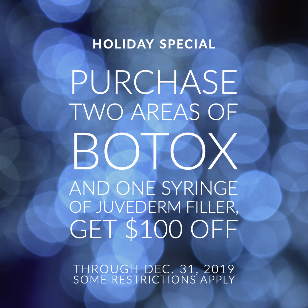 Botox Juvederm Holiday Special