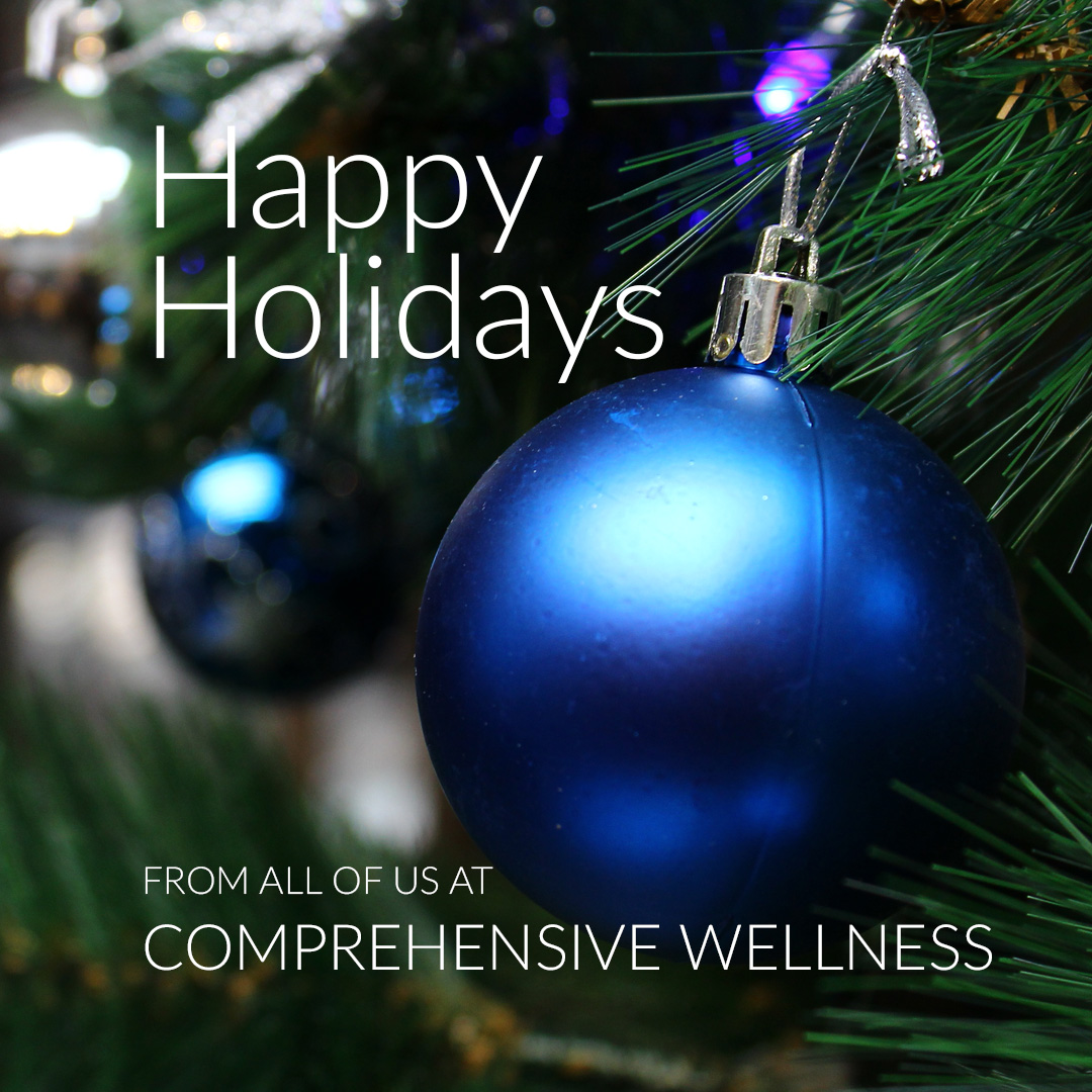 Happy Holidays from Comprehensive Wellness