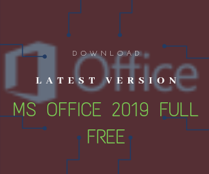 MS office 2019 full free download