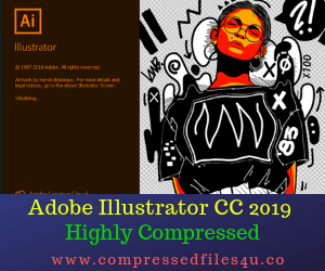 Adobe Illustrator CC 2019 Highly Compressed