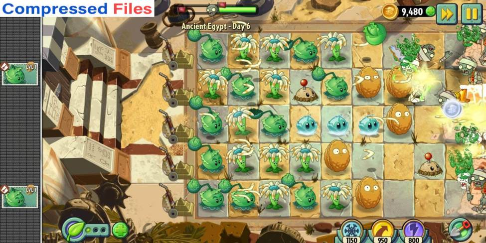 Plant vs zombies 2 apk and data download