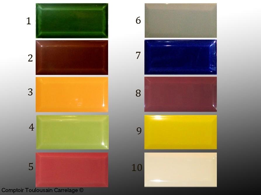 carrelage metro 7 5x15 epaisseur 9mm nouvelles couleurs