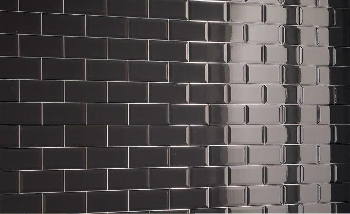 carrelage 10x20 metro blanc noir carrelage 1er choix