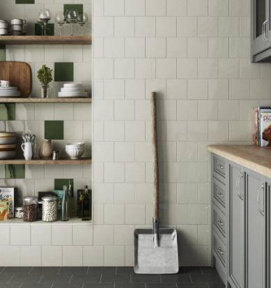 Carrelage Mur Carre Blanc Et Couleurs Brillant 15 X 15 Cm Ab19 Vente De Carrelage Haut De Gamme A Montpellier Le Comptoir De Ceram