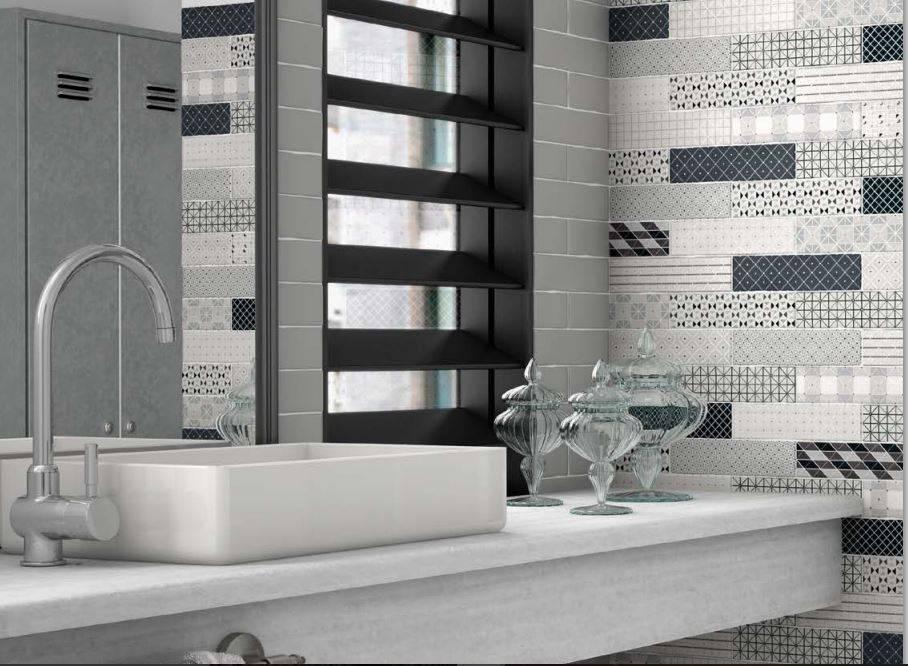 carrelage rectangulaire salle de bains