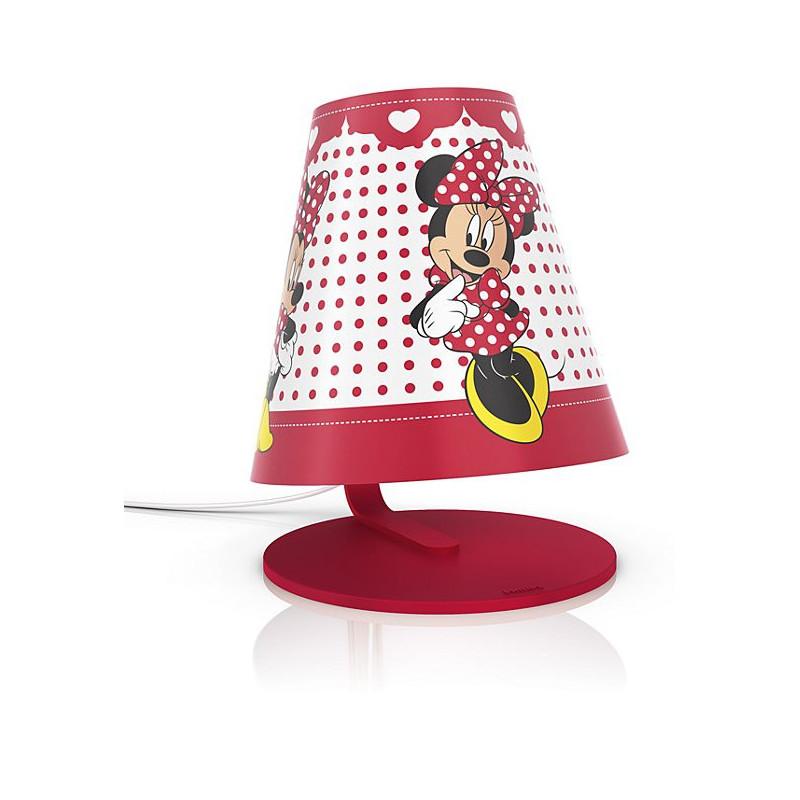 lampe a poser led disney minnie philips comptoir des lustres
